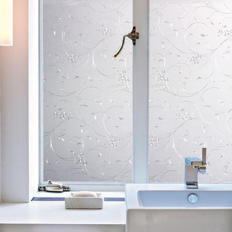 Thicken Window Film Bathroom Door Glass Opaque Frosted